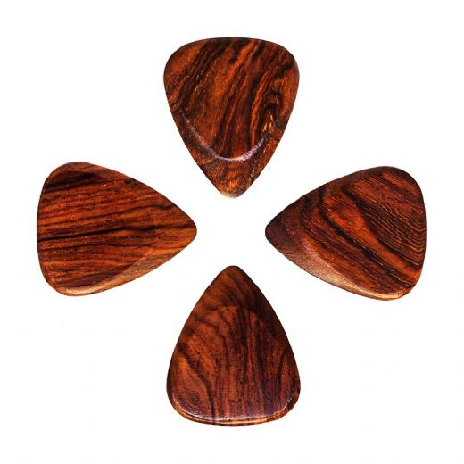 Timber Tones Fat Burma Padauk Pack of 4 Guitar Picks